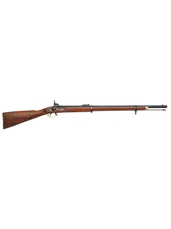 "1858 2-Band Enfield Musket .58, 33"" Blue Barrel"