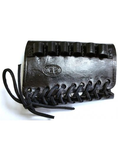 Rifle Stock Ammo Shell Holder Black
