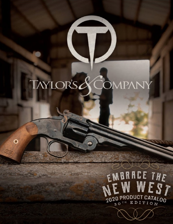 Taylor's Firearms 2020 Catalog Cover